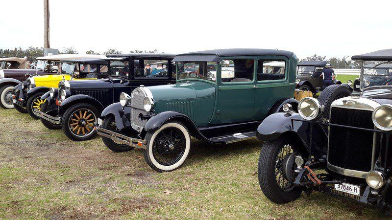 Barry & Margaret's 1928 Model A Tudor